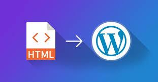 HTML To WordPress Converter
