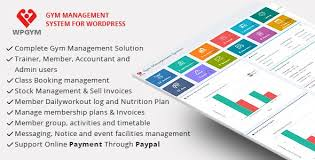 WPGYM - Wordpress Gym Management System