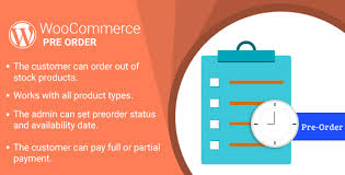 WordPress WooCommerce Pre Order Plugin